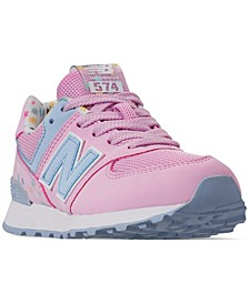 Little Girls' 574 Casual Sneakers from Finish Line