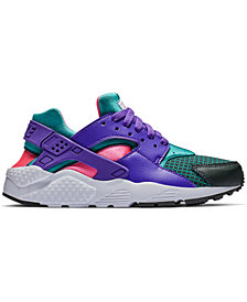 Nike Girls' Air Huarache Run Ultra Now Running Sneakers from Finish Line