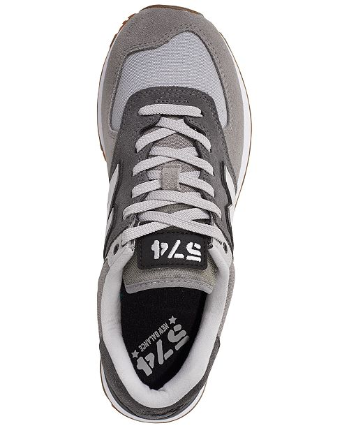 035f0f9812 New Balance Men's 574 Military Patch Casual Sneakers from Finish ...