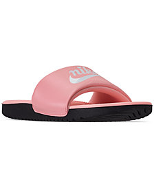 Nike Girls' Kawa Valentine's Day Slide Sandals from Finish Line