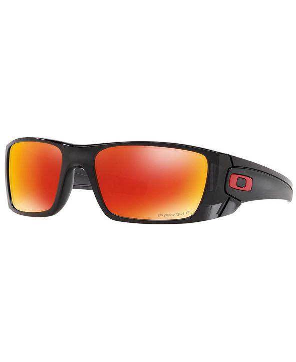 Oakley Polarized Sunglasses, OO9096 FUEL CELL
