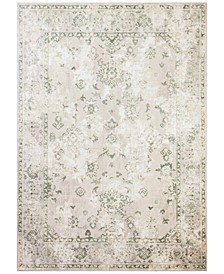 "Lama LMA-107 Cream 7'9"" x 9'6"" Area Rug"