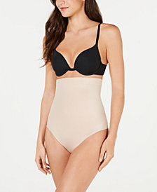 SPANX Women's Suit Your Fancy Control High-Waist Thong 10196R