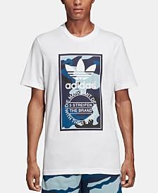 adidas Men's Originals Camo-Logo T-Shirt