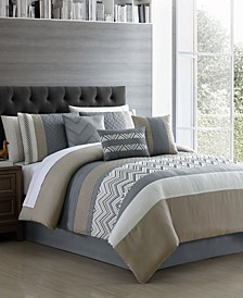 CLOSEOUT! Jacques 7-Pc. Comforter Sets