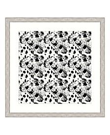 "Ebony Blossoms II Framed Giclee Wall Art - 44"" x 44"" x 2"""