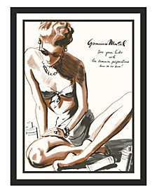 "Germaine Montiel Framed Giclee Wall Art - 33"" x 43"" x 2"""