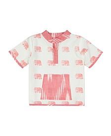 Masala Baby Boys Ollie Shirt Elephant