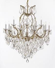 Maria Theresa 16-Light Crystal Chandelier