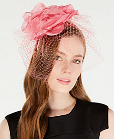 August Hats Flower Netting Fascinator