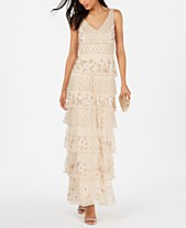 5fece779d90 Adrianna Papell Petite Beaded Tiered Gown