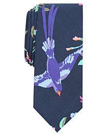 Original Penguin Men's Elad Floral Skinny Tie