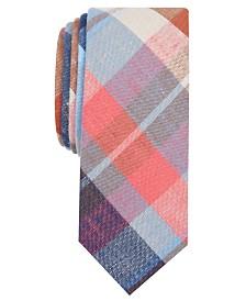 Original Penguin Men's Lyons Plaid Skinny Tie