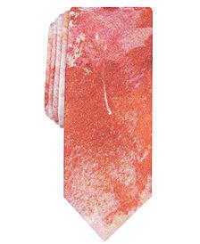 Original Penguin Men's Leddy Leaf Skinny Tie