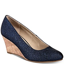 Rialto Coris Wedge Pumps