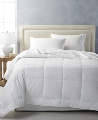 CLOSEOUT! Medium Weight White Down Full/Queen Comforter, Created for Macy's