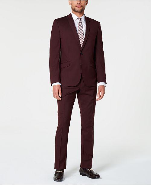 Billy London Men's Slim-Fit Performance Stretch Suit