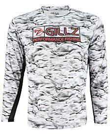 Gillz Men's Tournament Series CoolCore Quick-Dry Logo Graphic UV T-Shirt