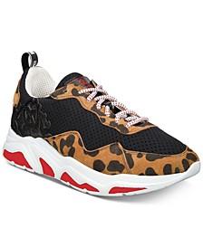 Men's Leopard Dad Sneakers