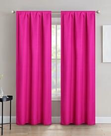 "Sun+Block Foam Back Blackout Rod Pocket Curtain Panel Pair 42""x84"""