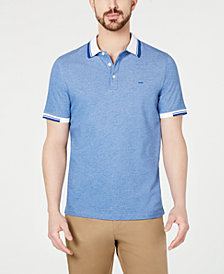 Michael Kors Men's Greenwhich Liquid Cotton Performance Stretch Polo