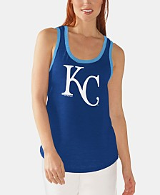 G-III Sports Women's Kansas City Royals Clubhouse Tank
