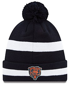 Chicago Bears Chase Pom Knit Hat