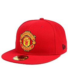 New Era Manchester United Basic 59FIFTY Fitted Cap
