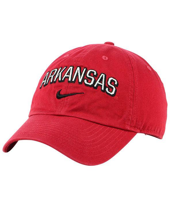 Nike Arkansas Razorbacks H86 Wordmark Swoosh Cap