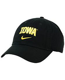 Nike Iowa Hawkeyes H86 Wordmark Swoosh Cap