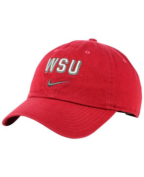 Nike Washington State Cougars H86 Wordmark Swoosh Cap