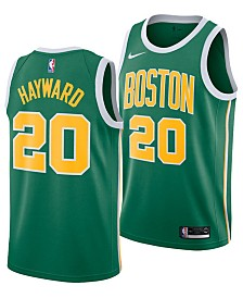 Nike Gordon Hayward Boston Celtics Earned Edition Swingman Jersey, Big Boys (8-20)