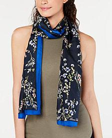 Lauren Ralph Lauren Nika Floral Silk Oblong Scarf