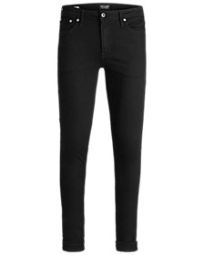 Jack & Jones Men's Slim Straight Fit Black Jeans
