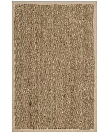 Safavieh Natural Fiber Natural and Ivory 3' x 5' Sisal Weave Area Rug