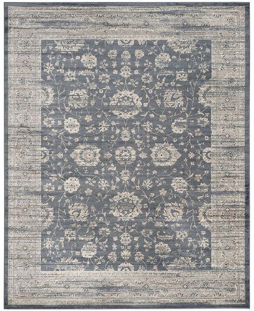 Safavieh Vintage Dark Gray and Cream 9' x 12' Area Rug