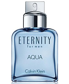 ETERNITY AQUA for men Eau de Toilette Spray, 3.4 oz.