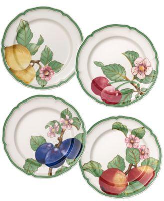 French Garden Modern Fruit Set/4 Dinner Plate