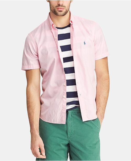 410dda3f Polo Ralph Lauren Men's Big & Tall Classic Fit Twill Shirt & Reviews ...