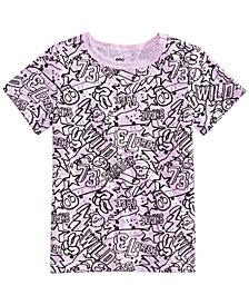 Epic Threads Little Boys Graffiti-Print T-Shirt, Created for Macy's