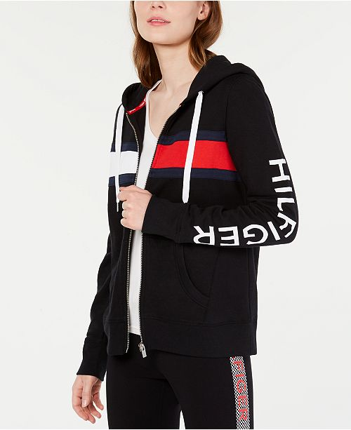 Tommy Hilfiger Colorblocked Graphic Hoodie