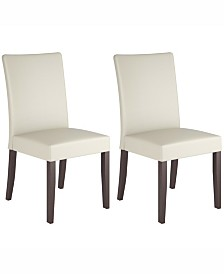 Corliving Leatherette Dining Chairs, Set of 2