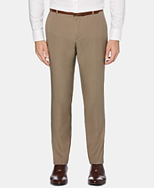 Men's Portfolio Extra-Slim Fit Performance Stretch Heather Non-Iron Dress Pants