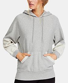 Free People Hawking Cotton Hoodie Sweatshirt