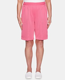 Alfred Dunner Classics Pull-On Bermuda Shorts