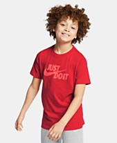 39582fc3a Nike Big Boys Just Do It Graphic Cotton T-Shirt