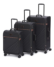 Calvin Klein Capri Softside Upright Luggage Collection
