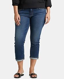 Silver Jeans Co. Plus Size Elyse Capri Jeans