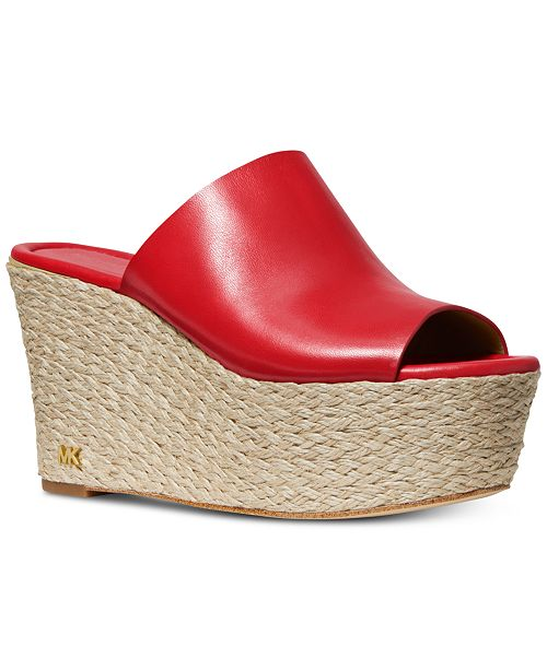 Michael Kors Cunningham Wedge Sandals & Reviews