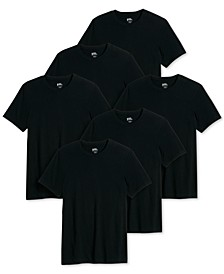 Men's 6-Pk. Classic Cotton T-Shirts